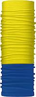 Зимовий бафф Бандана-трансформер Синьо-жовтий  ZBT-061-3, КОД: 131992
