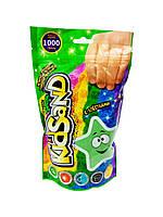 Набор креативного творчества Кинетический песок KidSand 1000 г Зеленый (7807DT/1)