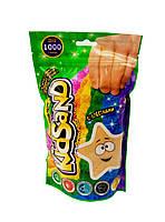 Набор креативного творчества Кинетический песок KidSand 1000 г Желтый (7807DT)