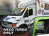 Дефлекторы окон (вставные!) ветровики Iveco Turbo Daily 1999-2006, HEKO, 18105, фото 2