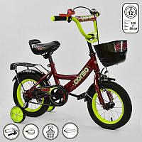 Велосипед 2-х колёсный G-12041 CORSO Красный IG-75413, КОД: 1491033