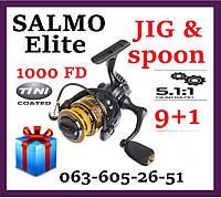 Катушка рыболовная спиннинговая  Salmo Elite JIG&SPOON 10 1000 FD  Безынерционная Салмо для спиннинга