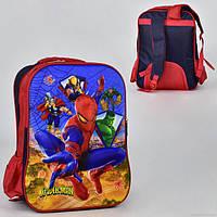 Рюкзак школьный Spider-Man Черно-красный St2023, КОД: 225204