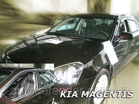 Дефлекторы окон (вставные!) ветровики Kia Magentis 2006-2011 4шт., HEKO, 20132