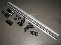 Багажник на крышу, универсальный , алюминиевый, 122см., без водостоков Lanos, Славута (Дорожная Карта) DK-338LS