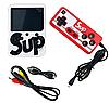 Портативная игровая ретро приставка 400 игр SUP с джойстиком