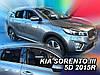 Дефлекторы окон (вставные!) ветровики Kia Sorento III 2015-2021 4шт., HEKO, 20167, фото 2