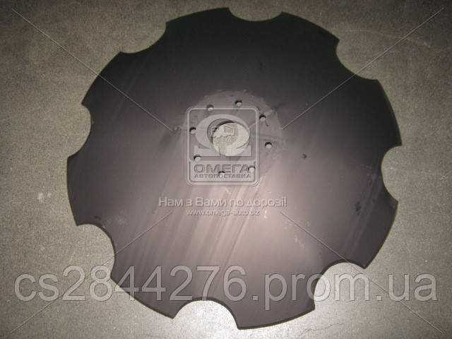 Диск бороны ромашка 650 мм кр.64 мм 8 отверстий АГ, УДА, ПД (пр-во Велес-Агро) ПД 2.5-01.423-Б
