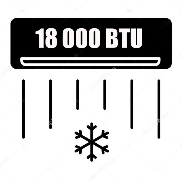 Кондиционеры 18 000 BTU