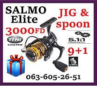 Катушка рыболовная спиннинговая   Salmo Elite JIG&SPOON 10 3000 FD   Безынерционная Салмо для спиннинга