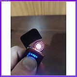 Запальничка спіральна USB ZGP чорна, фото 2