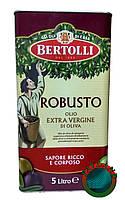 Оливковое масло BERTOLLI Robusto Olio Extra Vergine Di Oliva 5 л.