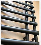 Полотенцесушитель черный 78*50 1-53, фото 2