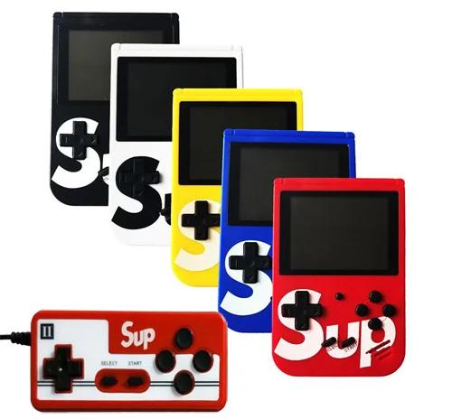 Портативная приставка Retro FC SUP Game box 400 игр Dendy с джойстиком