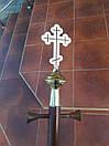 Держак для хоругви 3м. з поперечником, фото 7
