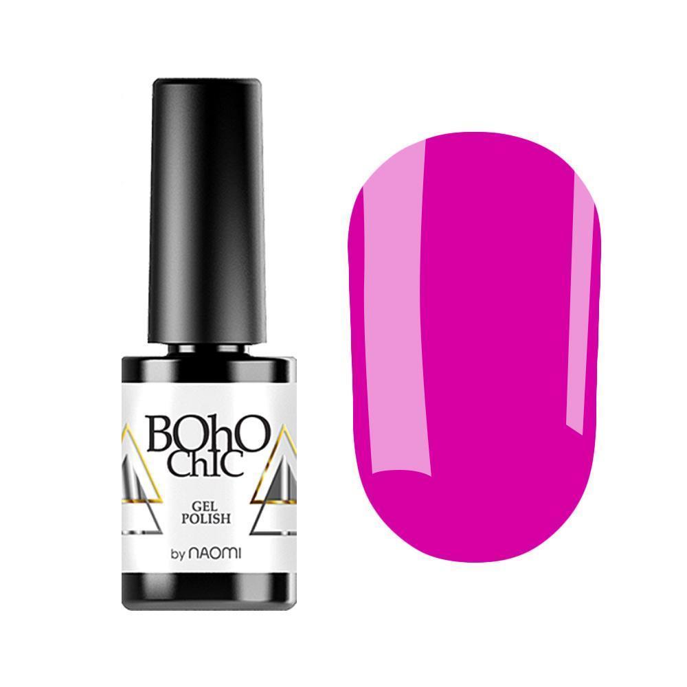 Гель-лак для ногтей Naomi Boho Chic BC018 Фиолетовый , 6 мл