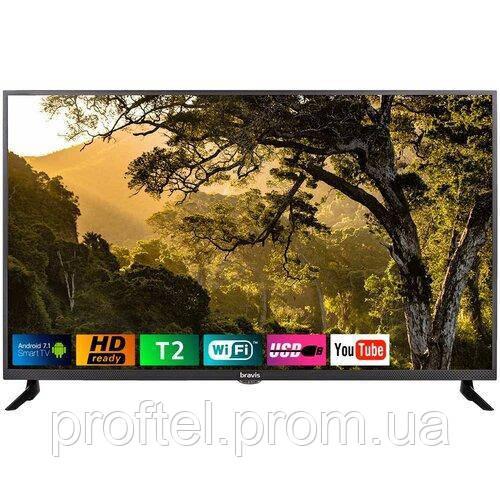 Телевизор BRAVISLED-43D5000 Smart + T2