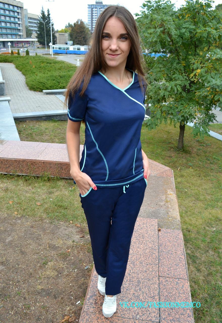 """Жіночий медичний костюм """"Мікс"""""""
