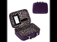 Органайзер - кейс для косметики HMD Фиолетовый 103-10222773, КОД: 1613518