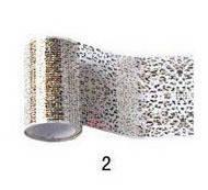 Фольга-рисунок для литья и дизайна ногтей №Н2