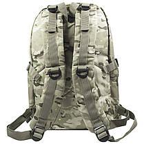 Рюкзак городской KAKA KA-666 Camouflage Green тактический USB для зарядки влагоотталкивающий потайной карман, фото 2