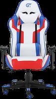 Кресла Офисные Геймерское кресло GT Racer X-2530 White/Blue/Red
