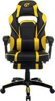 Кресла Офисные Геймерское кресло GT Racer X-2749-1 Black/Yellow