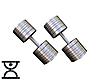 Дві гантелі сталеві по 48 кг