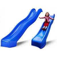 Дитяча гірка Swing King Blue 3м (Нідерланди)