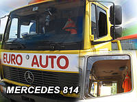 Дефлекторы окон (вставные!) ветровики Mercedes-Benz Truck 814 1990-1996 2шт. Vario, HEKO, 23271