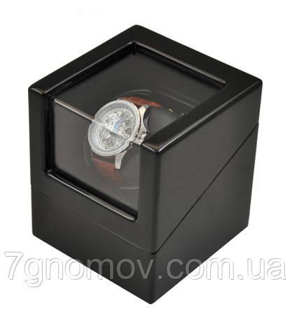 Шкатулка для подзавода часов, тайммувер для 1-х часов Rothenschild RS-1041-BB