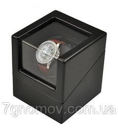 Шкатулка для підзаводу годинників, тайммувер для 1-го годинника Rothenschild RS-1041-BB