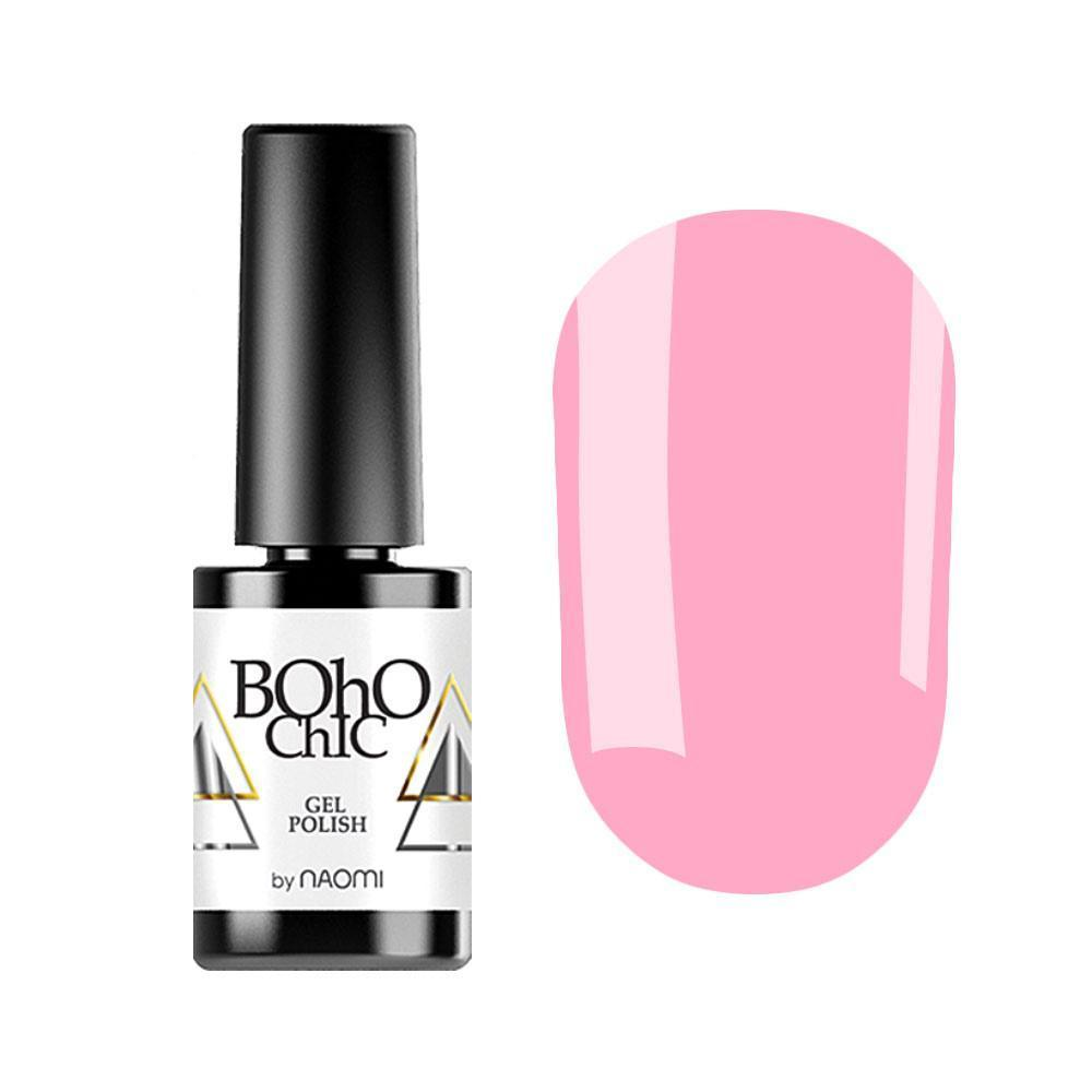 Гель-лак для ногтей Naomi Boho Chic BC026 Светло-розовый,6мл