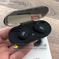 Беспроводные bluetooth наушники гарнитура JBL TWS 4 by harman с кейсом для зарядки спортивные