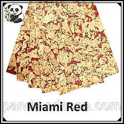 Пробковые панели (обои) Miami Red TM Egen 600*300*3 мм