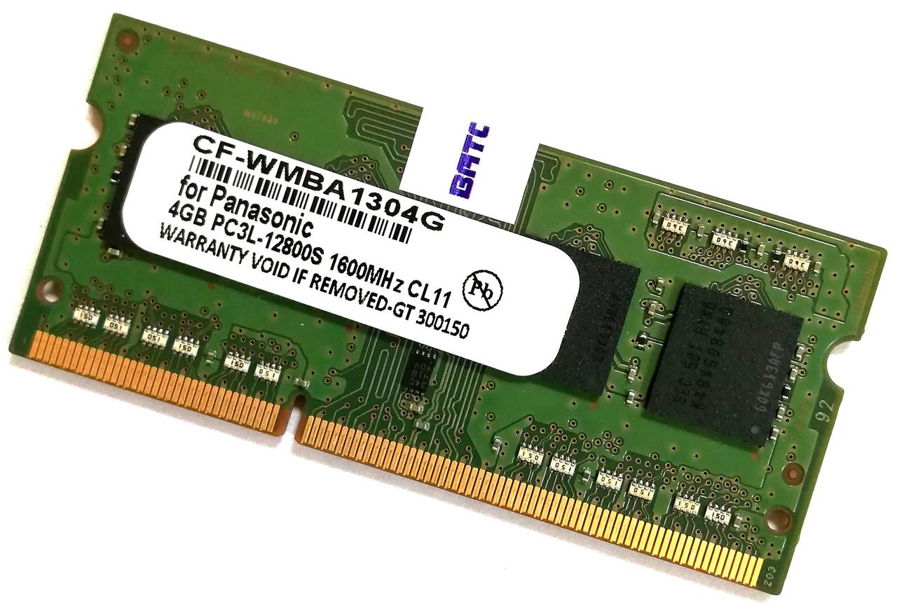 Оперативная память для ноутбука Panasonic SODIMM DDR3L 4Gb 1600MHz 12800s CL11 (CF-WMBA1304G) Новая!
