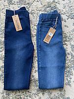 Модные молодежные весенние джинсы джеггинсы Ласточка (синие, темно-синие) НОРМА