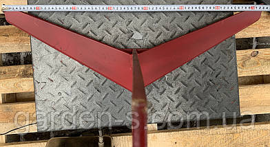 Плоскорез-пропольник Булат к мотоблоку (750 мм, для сплошной обработки), фото 2