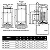 Бойлер косвенного нагрева Drazice OKC 160 NTR/Z, фото 3