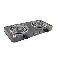 Электроплита настольная двухконфорочная Domotec MS-5802 спиральная электрическая переносная плитка | 🎁%🚚, Другие товары в каталоге - для кухни