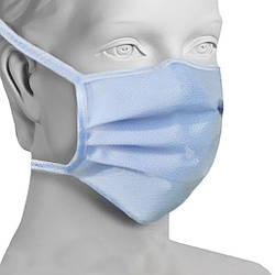 Одноразовая маска Защитная - 20 шт. + Подарок Антисептик / Маска для лица на завязках