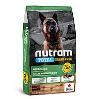 T26 NUTRAM 11.4kg. Беззерновой корм для собак с ягненком и чечевицей