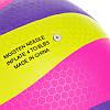 Мяч волейбольный клееный FOX SD-V8005 (PU с сотами, №5, 5 слоев), фото 2