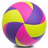 Мяч волейбольный клееный FOX SD-V8005 (PU с сотами, №5, 5 слоев), фото 3