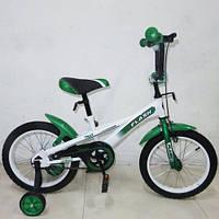 Велосипед FLASH Зелено-белый TOY-46260, КОД: 1355511