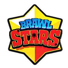 Наклейка на коробку-сюрприз Brawl Stars / Бравл Старс звезда