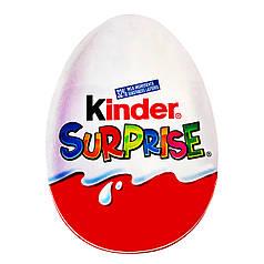 Наклейка на коробку-сюрприз Kinder Surprise / Кіндер Сюрприз