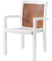 Кресло Papatya Vira белое