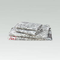 Комплект постельного белья Вилюта Двухспальный 175х210 Белый hubCAbw47210, КОД: 1384009