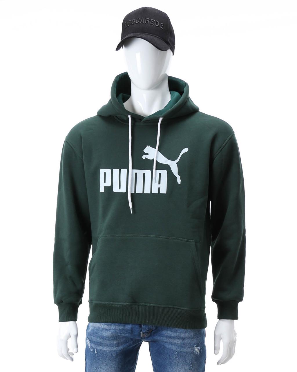 Худи осень-зима т зеленый PUMA Т-2 DGRN XL(Р) 20-477-203